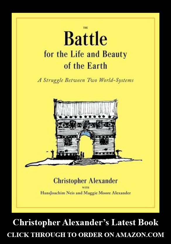 the nature of order an essay on the art of building The process of creating life: nature of order, book 2: an essay on the art of building and the nature of the universe (the nature of order)(flexible.