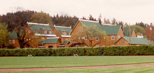 Group of twenty-four student apartments for married students, University of Oregon, Eugene, Oregon