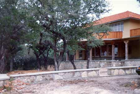 One of three houses on Lake Travis, Austin, Texas