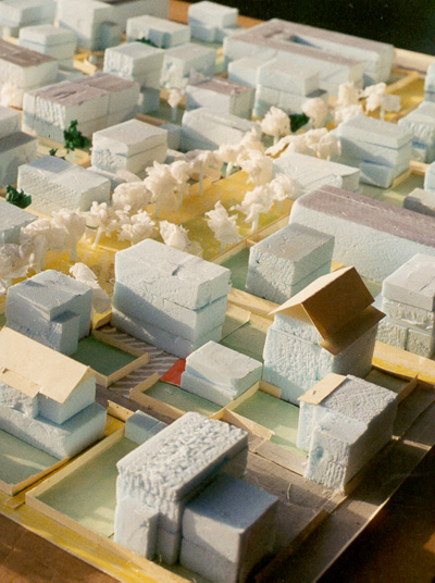 Model of neighborhood