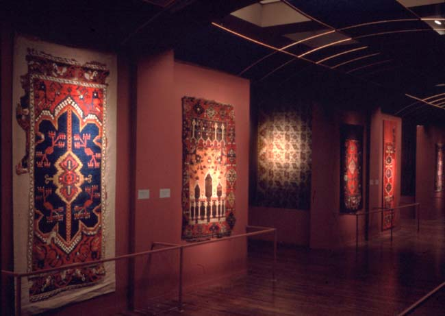View of the San Francisco Museum carpet gallery