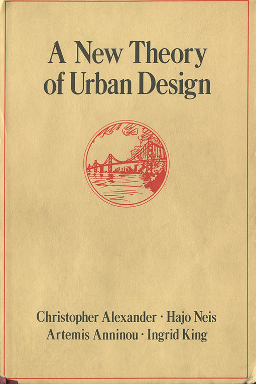 A New Theory of Urban Design book cover
