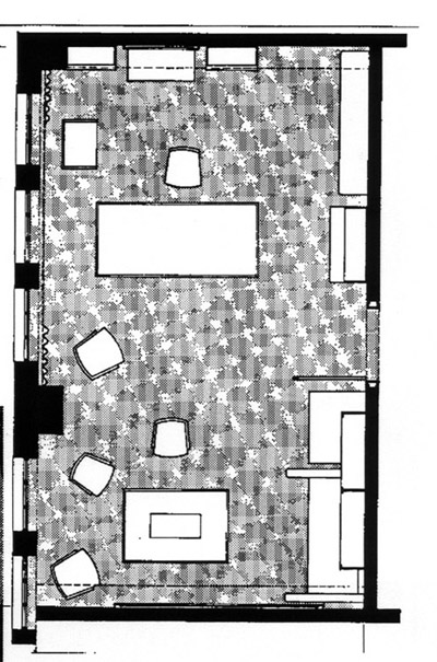 Pirko's office plan